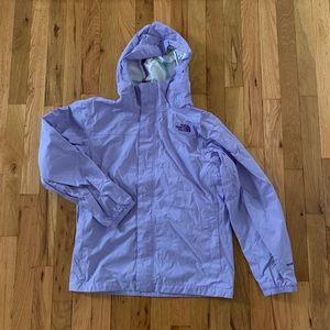 The North Face Rain Jacket - Purple Hyvent Jacket